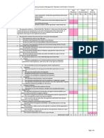 ISSA Cleaning Industry Management Standard Certification Checklist