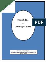 Tricks Listening Hesthi TOEFL 2014