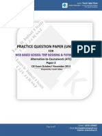 Practice Question Paper for Atc Exam Oct-nov 2013 Solved - Copy