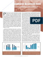 Soluble phosphorus in salmon feed - suitable as a measure of available phosphorus?