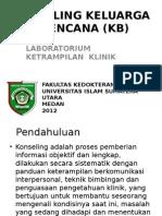 Konseling Keluarga Berencana (Kb) Ppt