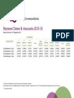 iQ Salford 2015-16 Payment Dates & Amounts