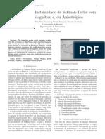 Relatório de PIBIC 2013