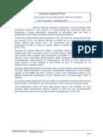 Newsletter Assoelettrica I Dati Congiunturali Del Settore Elettrico Italiano 1y15 Gennaio Dicembre 2014
