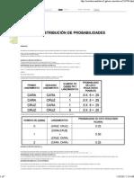 Distribucion de Probabilidad
