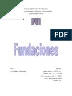 Fundaciones