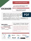 Oxalide Profile - Janvier 2016