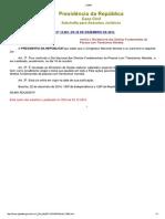 Lei 13.061-2014 - Institui o Dia Nacional Dos Direitos Fundamentais Da Pessoa Com Transtornos Mentais