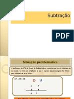 Subtração -Estratégias de Cálculo
