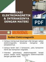 Radiasi Elektromagnetik Interaksinya Dg Materi