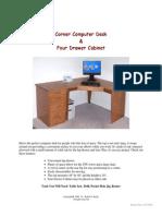 CornerDesk-DrawerCabinet