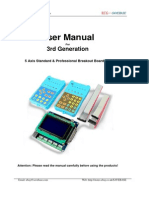 3rd 5Axis Breakout Board Set User Manual