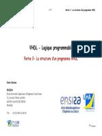 Cours VHDL 10 Partie2 Structure Programme