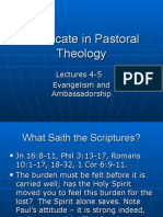 Pastoral Theology Lect 4-5