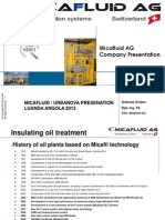2013 MICAFLUID Presentation