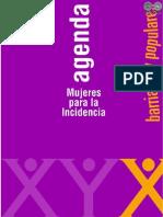 AGENDA DE MUJERES PARA LA INCIDENCIA barriales - MYRIAN GONZALEZ - PORTALGUARANI