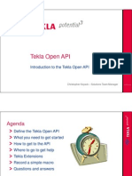 Tekla Open API