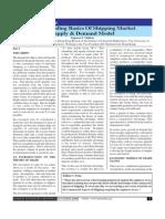 Supply & Demand Model