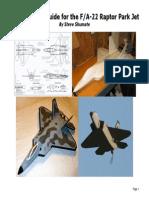 F 22 Construction Guide Scratchbuild