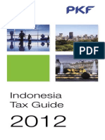 Indonesia Tax Guide 2012