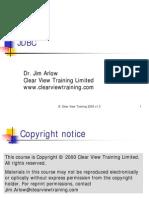 009.01 Arlow JDBC Tutorial July 2005