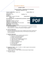 Course Guide ENG 331 January 2015