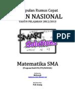 Kumpulan SMART SOLUTION Mathematics by Mubarak Spentwo