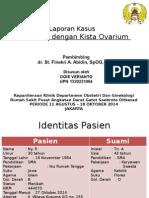 Presus Kehamilan dengan Neoplasma Kista Ovarium