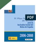 IVPlan Nacional de Inclusión Social 2006-2008