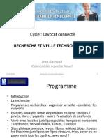 Cours EFB Recherche et veille technologique