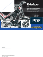 Sherco Trials 3.2 4T Basic Service Manual