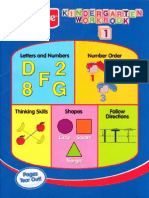 Fisher Price Kindergarten Workbook 1