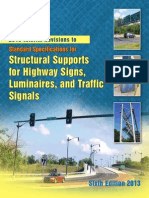 2015 Interim Revisions to Structural Supports for Highway Signs, Luminaires, And Traffic Signals (Sixth Edition 2013)