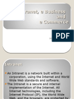 ebusiness ecommerce intranet