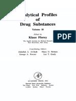 Analytical Profiles of Drug Substances Volume 18 1989