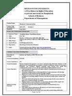 BUS 251-Course Details             ( Revi.doc