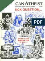American Atheist Magazine Nov 1983