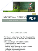 indonesian citizen
