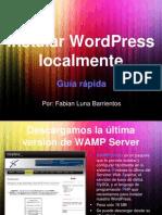 Instalar Wordpress Localmente