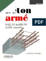 Béton Armé Bael 91 Modif 99