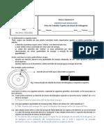 Proposta de Resolução FT Espectro Hidrogenio