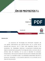 Direccion de Proyectos Ti Presentacion