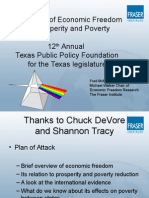 Fred McMahon - The Economic Impact of Economic Freedom on Poverty and Posperity