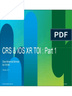 Crs_ios Xr Toi Part 1