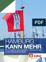 Wahlprogramm 2015 der CDU Hamburg