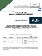Plan de Ensayos No Destructivos (End)