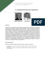 Parâmetros para a composição de betões auto-compactáveis