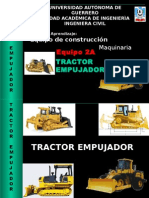 Tractor Empujador