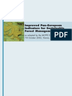 Improved IndicatorImproved Pan-European Indicators for Sustainable Forest Management
