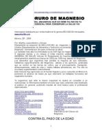 El Cloruro de Magnesio Cura - Martha Juana Muñoz y Enciso